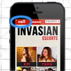 Invasian Escorts Smartphone Feature