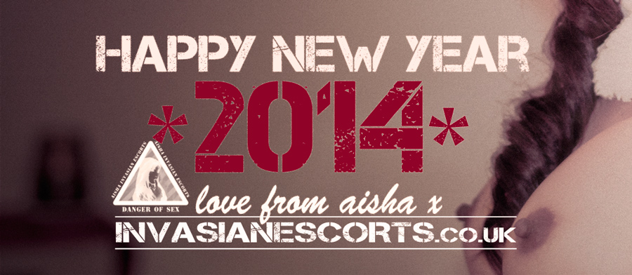 Happy new year from Invasian Escorts