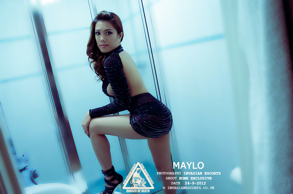Exclusive Image 7 of escort Maylo at home.