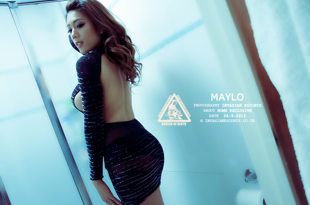 Exclusive Image 8 of escort Maylo at home.